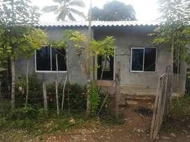 se vende casa en obra  negra