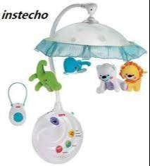 Fisher-Price 2-in-1 Projection Mobile, Precious Planet - Usado