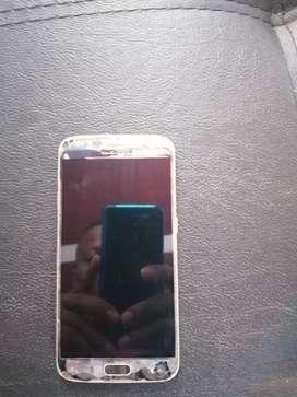Vendo Samsung s6 tapas peladas pero funciona bien