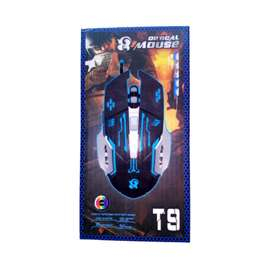 mouse gamer optical t9 6 botones