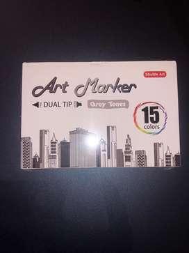 Marcadores Art Marker Gray Tones
