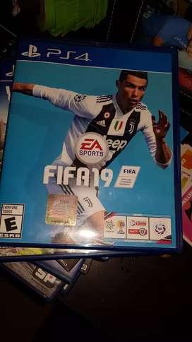 Juego para play 4 FIFA 2019