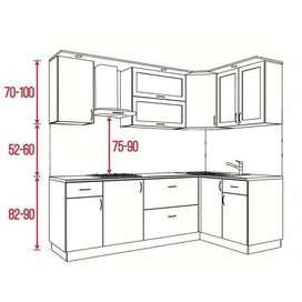 fabricación de cocinas y closeth