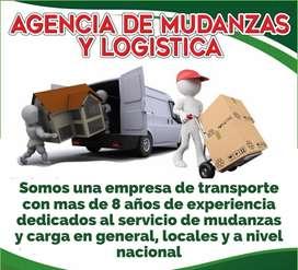 Agencia de mudanzas y logistica