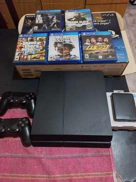 PS4 500GB más accesorios