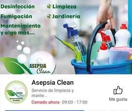 Asociación de limpieza busca personal