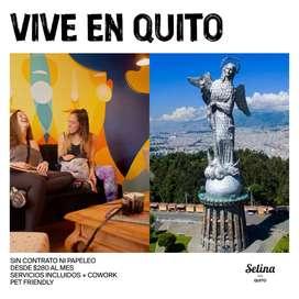 Arriendos Temporales en Selina Quito!