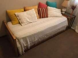 Sillon cama con colchon