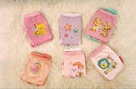 ropa interior para niña