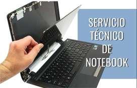 Servicio técnico de PC y Notebooks