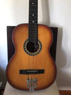 Guitarra vintage japonesa Mellow tone año70 cordal