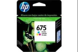 Cartuchos Hewlett Packard 675 negro/color