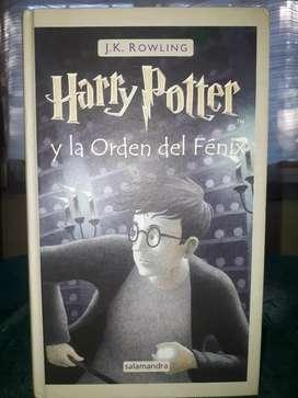 Libro Harry Potter y la orden del fénix TAPA DURA