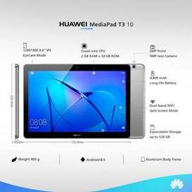 "REMATO Tablet Huawei Mediapad T3 10 9.6"", 2GB de RAM, 16GB Memoria, Android 7, Gris"