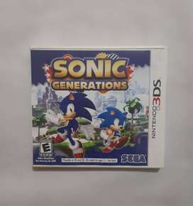 Videos juegos, Nintendo 3DS SONIC GENERATIONS