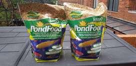 Tetra pondfood 2,5 libras comida peces Koi, Goldfish