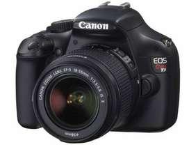 Cámara CANON Eos Rebel T3 lente EF-S 18-55mm