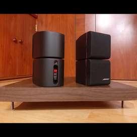 Bose red Line cubos dobles parlantes bafles satelitales Yamaha jbl polk technics sony