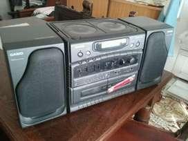 Stereo Fm Radio Pasacasete  Casio Japon