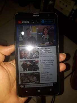 Vendo Nokia lumina 1320 full estado grande está en Valle grande