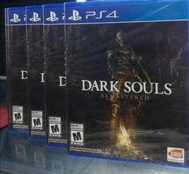 Dark Souls Remastered Ps4 Nuevo Sellado Stock