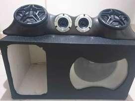 Caja turbo para vehículo