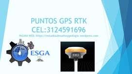 PUNTOS GPS RTK