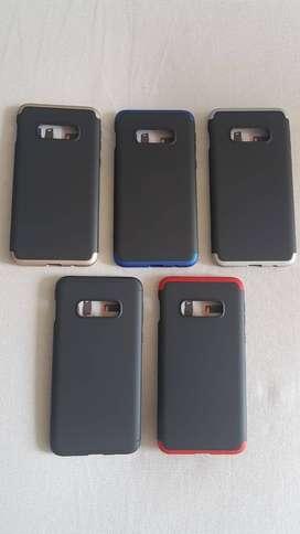 Estuche y Vidrio 5D Samsung Galaxy S9, S9 Plus, S10e, S10 Plus, S20, S20 Plus, S20 Ultra