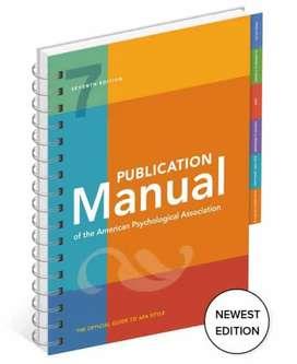 Corrección, Críticas y Retroalimentación de uso de Normas Apa 7ma edición
