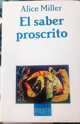EL SABER PROSCRITO