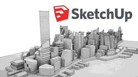 SKETCHUP PRO CLASES PARTICULARES VIRTUALES