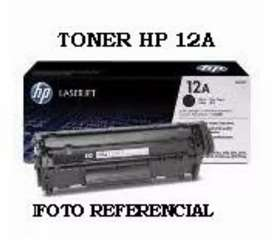 TONER HP 12A PARA IMPRESORAS LASER HP1020 HP1018 HP1022
