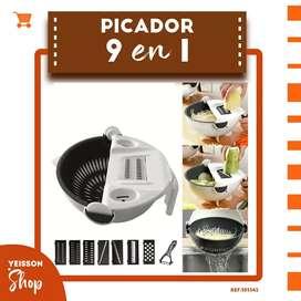 PICADOR 9 EN 1 AYUDANTE DE COCINA