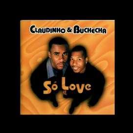 CD Cds original usado Claudinho e Buchecha: So love