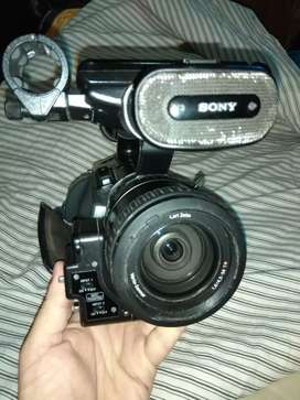 Vendo cámara filmadora Sony z1