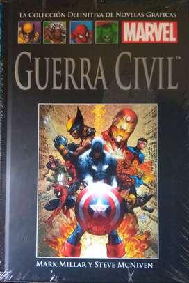 Novelas Graficas - Marvel Guerra Civil y Capitan America El Elegido