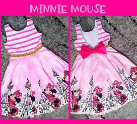 Vestidos Minnie Mouse Escote en V