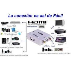 CONVERTIDOR HDMI A AUDIO Y VIDEO