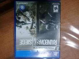 Rainbow six siege PS4 físico