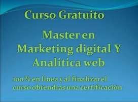 Curso de Marketing Digital y Análitica Web