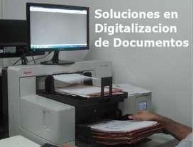 Servicios en Digitalización de Documentos