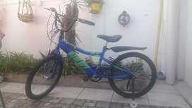 Bicicleta usada niño