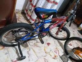 Bici niño azul
