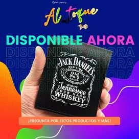 Billetera Jack Daniel's