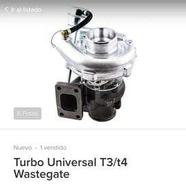 De oportunidad vendo turbo universal T3/T4 Wastegate