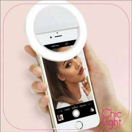 Aro de Luz Led Selfie Celular Tablet Pc Linterna Anillo Fotos