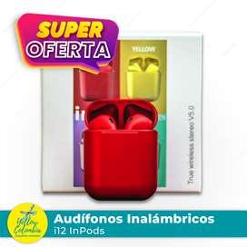 Audífonos inalámbricos i12 InPods