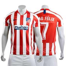 Camiseta Original Atletico De Madrid 19-20 Joao Felix Arias futbol