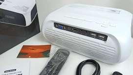 Proyector con Miracast Proyector para conectar el celular via Wifi 4000 Lumens