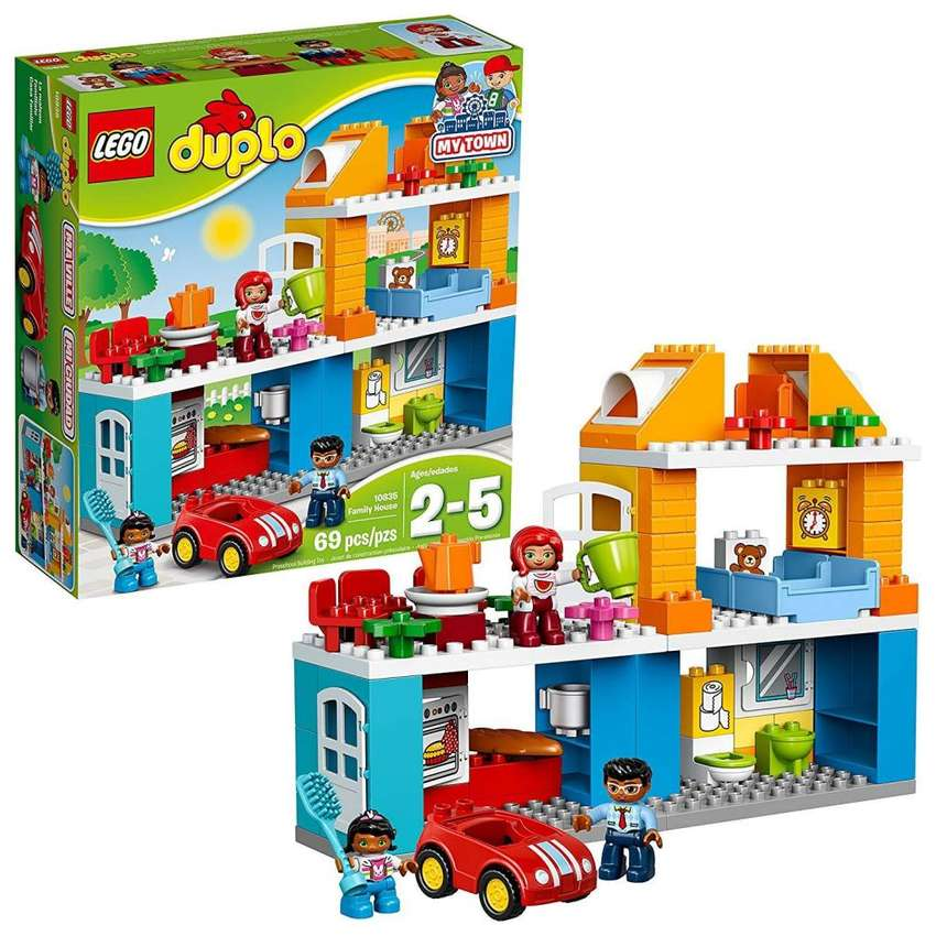 LEGO Duplo My Town Family House 10835 0